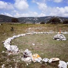 Symbolisch middelpunt 'Heilige lijn-Aertsengel Michael
